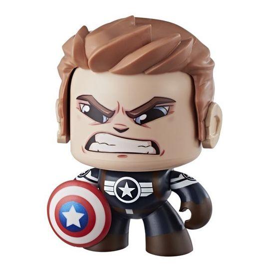 Boneco Mighty Muggs 10 Cm - Avengers - Capitão America