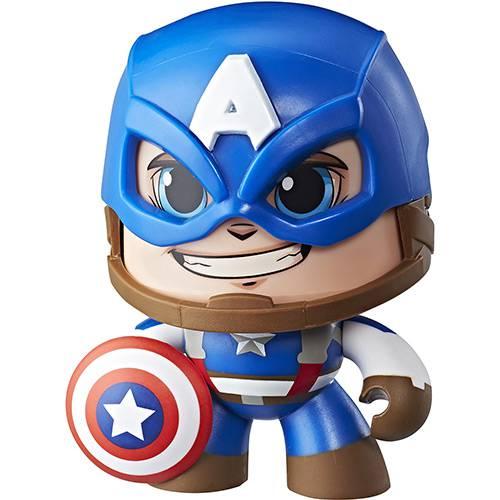 Boneco Mighty Muggs Capitão América - E2122/E2163 - Hasbro