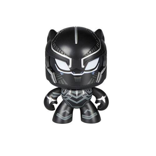 Boneco Mighty Muggs Marvel Pantera Negra - Hasbro