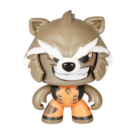 Boneco Mighty Muggs Marvel Rocket Raccoon - Hasbro