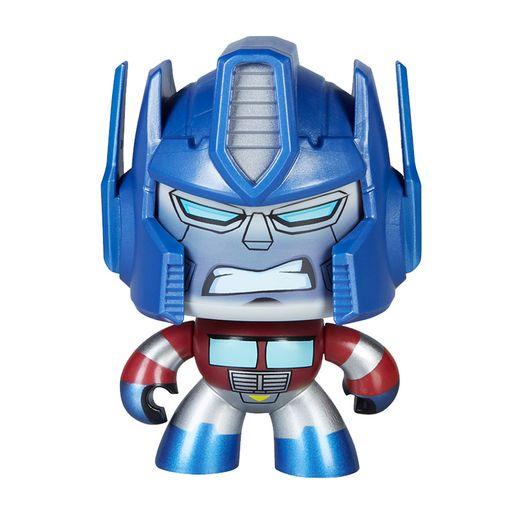Boneco Mighty Muggs Transformers Optimus Prime - Hasbro