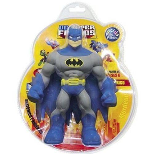 Boneco Mordedor Batman de Vinil Dc Super Friends com Cheirinho