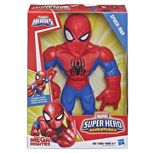 Boneco Playskool Super Hero Adventures Mega Mighties - Homem Aranha - Hasbro