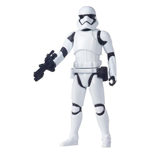 Boneco Star Wars 6 Value Episodio VII Lead Hero Battler Tan - Stormtrooper HASBRO
