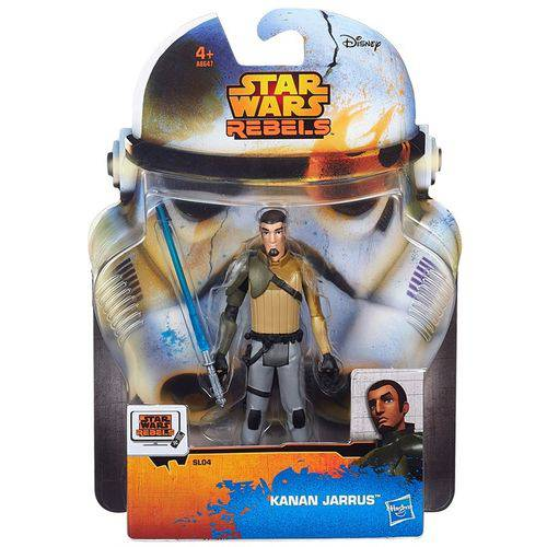 Boneco Star Wars Rebels Saga Legends - Kanan Jarrus 9,5 Cm - Hasbro
