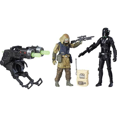 Boneco Star Wars Rogue One 3.75 Deluxe - Imperial Death Trooper - Hasbro