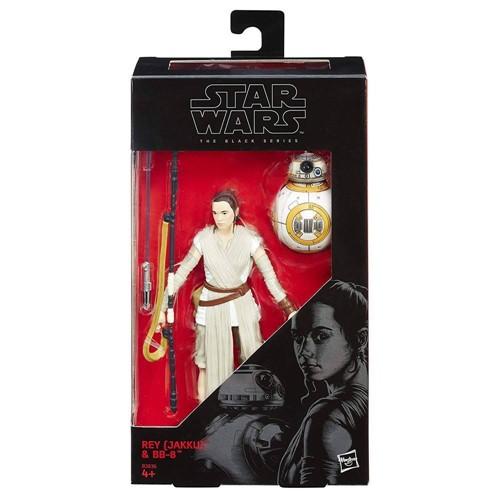 Boneco Star Wars The Black Series - Rey e BB-8