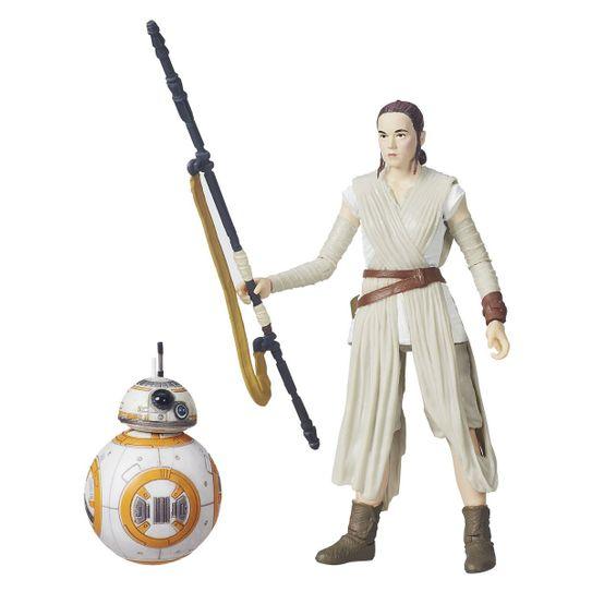 Boneco Star Wars The Black Séries - Rey ( Jakku ) & BB-8
