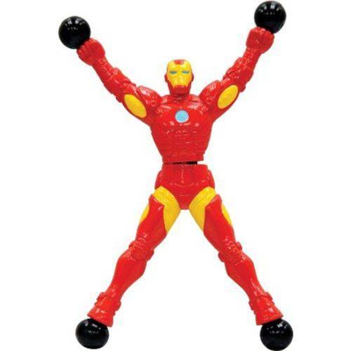 Boneco Stick Hero Avengers Homem de Ferro 1461 Candide