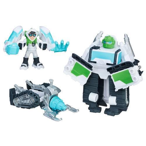 Boneco Transformável - Transformers - Arctic Rescue Boulder - Playskool - Hasbro