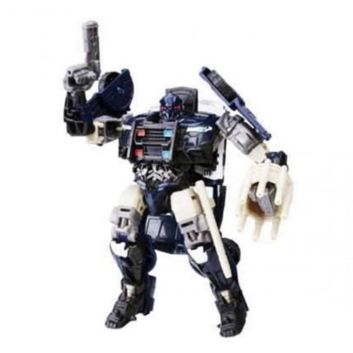 Boneco Transformers Barricade Premier Hasbro - Minimundi.com.br