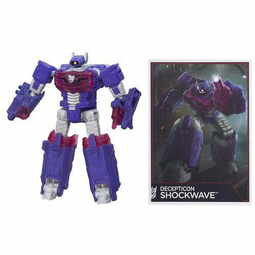 Boneco Transformers Decepticon Shockwave 9cm Hasbro