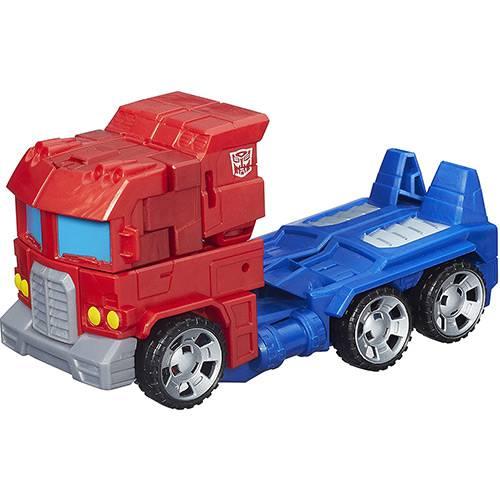 Boneco Transformers Generations Cyber 7 Optimus Prime - Hasbro