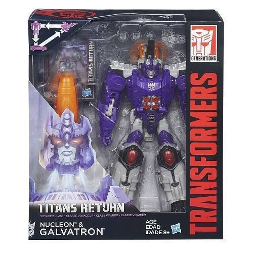 Boneco Transformers Generations Voyager Return Nucleon e Galvatron Hasbro B7769/ 6460 11707
