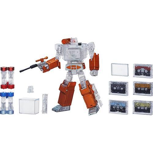 Boneco Transformers Platinun Soundwave - Hasbro