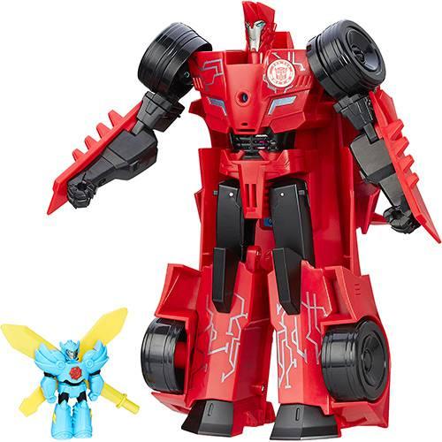 Boneco Transformers Power Surge Sideswipe - Hasbro