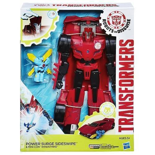 Boneco Transformers Robots In Disguise Mini-Con Windstrike Hasbro B7067/7068 11697