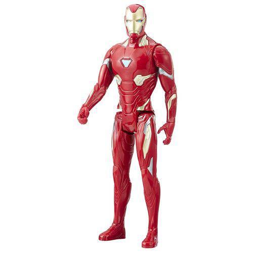 Boneco Vingadores Guerra Infinita Titan Homem de Ferro