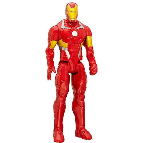 Boneco Vingadores Homem de Ferro Titan - Hasbro