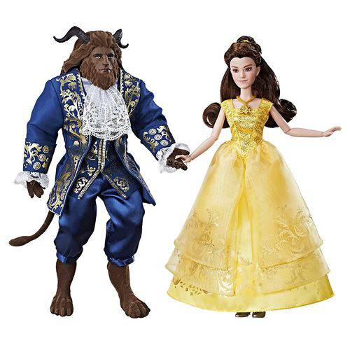 Bonecos a Bela e a Fera - o Grande Romance - Hasbro