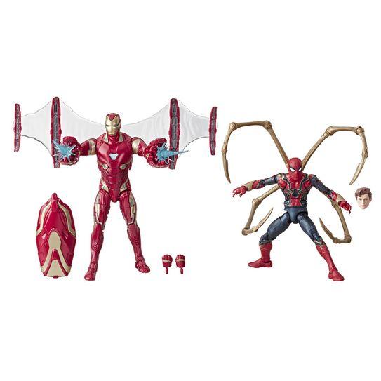 Bonecos Legends Series 80 Anos - Iron Man Mark 50 / Iron Spider