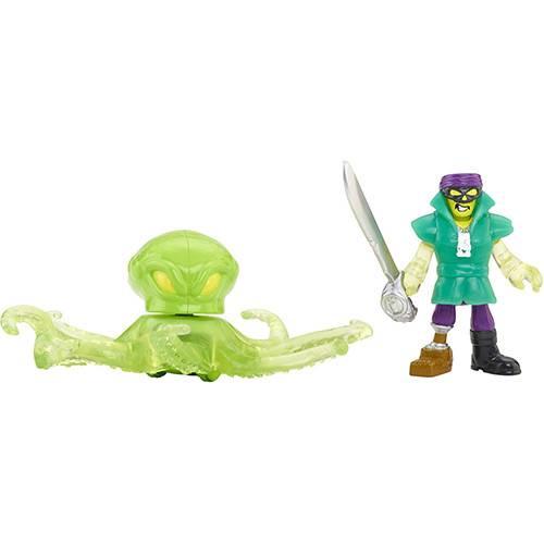 Bonecos Polvo e Pirata Imaginext - Mattel