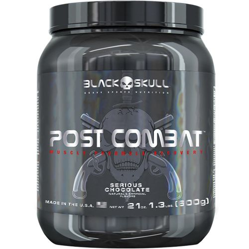 Bope Post Combat 1.3lbs Chocolate - Black Skull