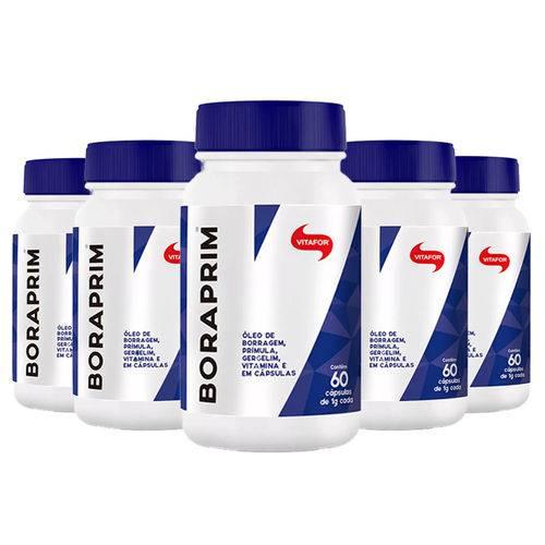 Boraprim - 5x 60 Cápsulas - Vitafor