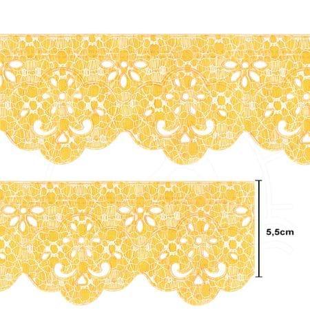 Bordado Marilda Coleção Requinte Mod. 1206 Ultra - 10 Metros 101.16 Amarelo