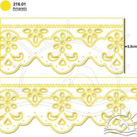 Bordado Marilda Mod. 06 Ultra - Cores 01 - Amarelo