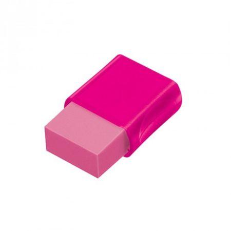 Borracha com Cinta Max Neon Faber Castell - Rosa