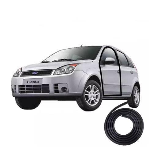 Borracha de Vedação da Porta Fiesta Hatch e Sedan 2002 Até 2013