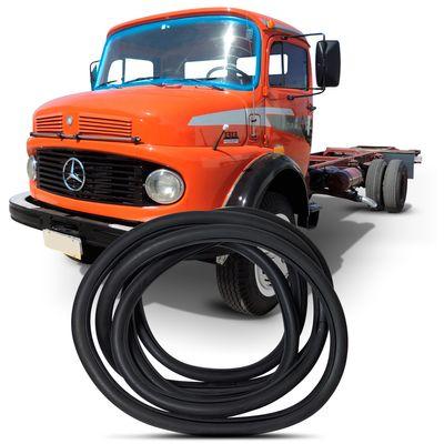 Borracha do Parabrisa Caminhão Mercedes Benz 1113 1313 1513 Cabine Alta