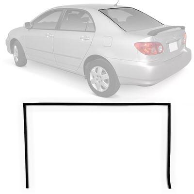 Borracha do Vidro Traseiro Vigia Toyota Corolla 2003 a 2008