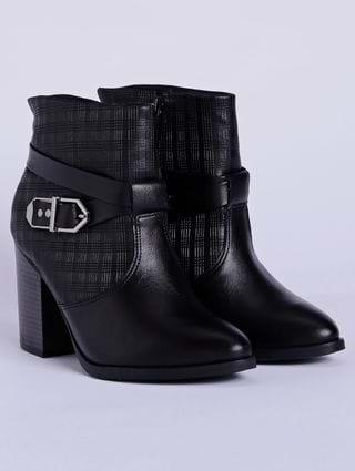 Bota Ankle Boot Feminina Ramarim Preto
