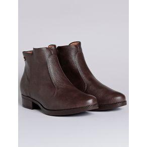 Bota Ankle Boot Feminina Vizzano Marrom 36