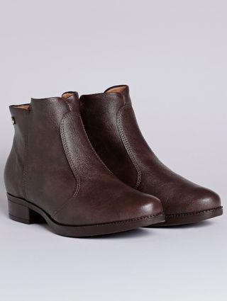 Bota Ankle Boot Feminina Vizzano Marrom
