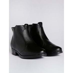 Bota Ankle Boot Feminina Vizzano Preto 34