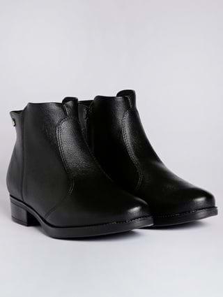 Bota Ankle Boot Feminina Vizzano Preto