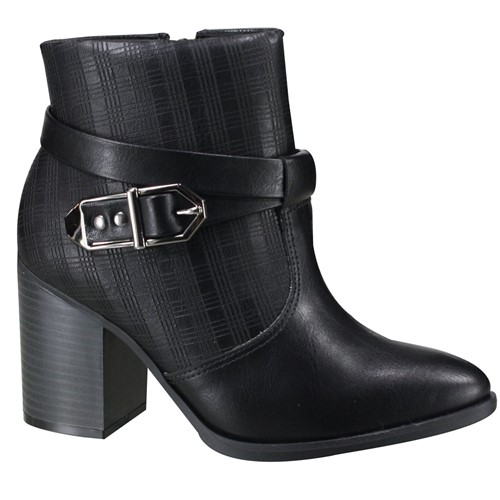 Bota Ankle Boot Ramarim Feminina 19-16101 000003 1916101000003