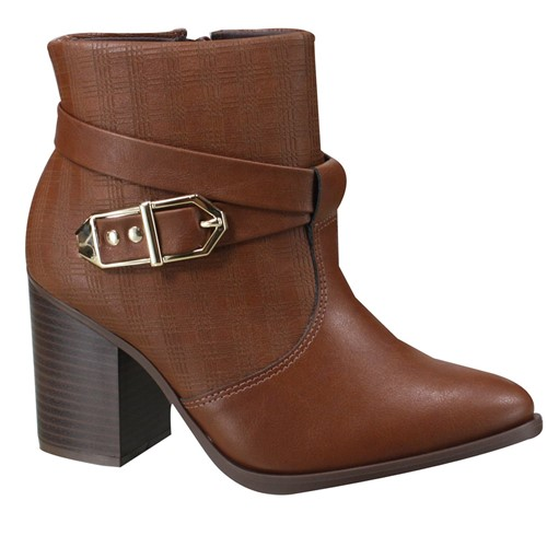 Bota Ankle Boot Ramarim Feminina 19-16101 000001 1916101000001
