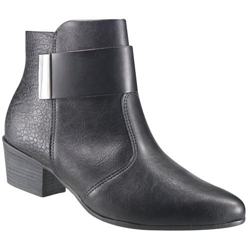 Bota Ankle Boot Ramarim Total Comfort 17-58101 000004 1758101000004