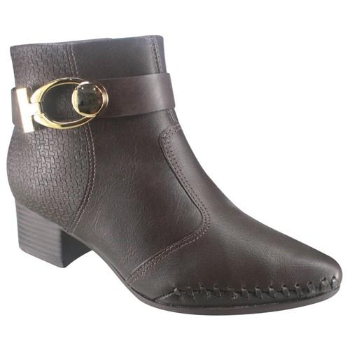 Bota Ankle Boot Ramarim Total Comfort 18-57102 000022 1857102000022