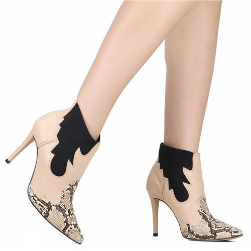 Bota Ankle Boot Zariff Chelsea Marrom
