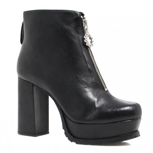 Bota Cano Curto Zariff Shoes Salto Alto 463001 | Betisa