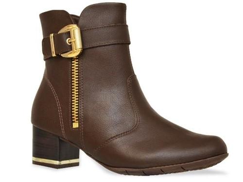 Bota Comfortflex Ankle Boot Marrom
