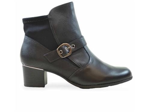 Bota Comfortflex Ankle Boot Preta