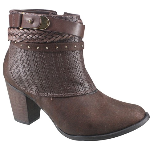 Bota Feminina Ankle Boot Ramarim 17-54103 000001 1754103000001
