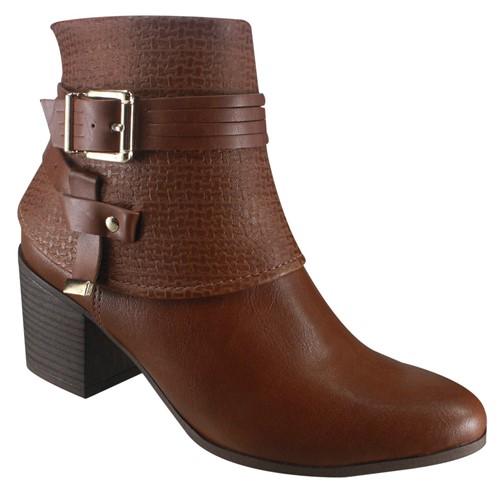 Bota Feminina Ankle Boot Ramarim 18-64102 000001 1864102000001