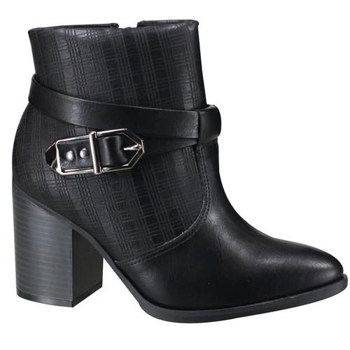 Bota Feminina Ankle Boot Ramarim 19-16101 000003 1916101000003